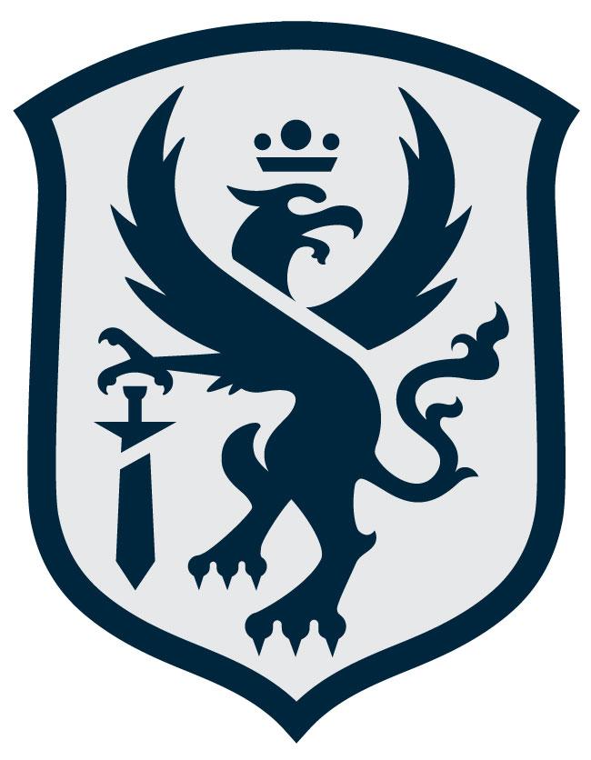 Blank Griffin Crest logo